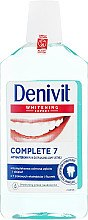 Kup Antybakteryjny płyn do płukania jamy ustnej - Denivit Whitening Expert Complete 7 Mouthwash