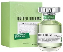 Kup Benetton United Dreams Live Free - Woda toaletowa