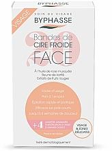Paski z zimnym woskiem do depilacji twarzy i delikatnych stref - Byphasse Cold Wax Strips Face & Delicate Areas For Sensitive Skin — фото N2