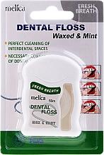 Kup Miętowa nić dentystyczna - Melica Organic Dental Floss Waxed & Mint