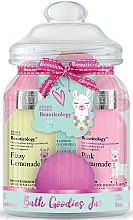 Kup Zestaw - Baylis & Harding Beauticology Llama Treats Jar (sh/cr/100ml + b/wash/100ml + b/lot/30ml + b/fizzer/40g + b/polisher)