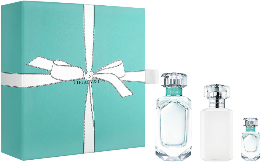 Tiffany & Co Eau De Parfum - Zestaw (edp 75 ml + edp 5 ml + b/lot 100 ml) — фото N1