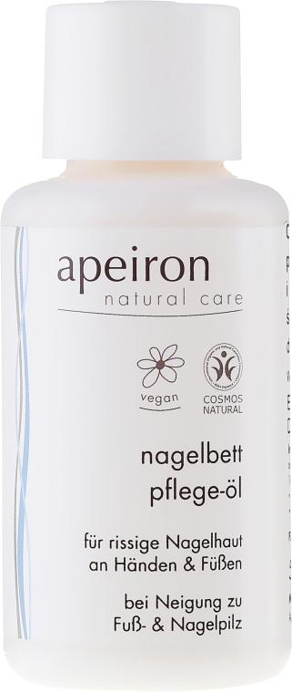 Olejek do rąk i paznokci - Apeiron Nail Bed Oil — фото N1