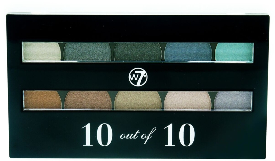 Cienie do powiek - W7 Perfect 10 Eyeshadow Palette