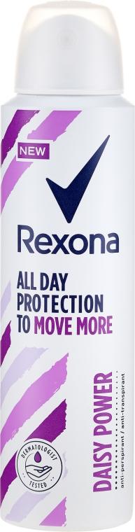 Antyperspirant w sprayu - Rexona Daisy Power Antiperspirant Deodorant — фото N1