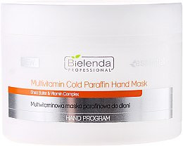 Kup Multiwitaminowa maska parafinowa do dłoni - Bielenda Professional Multivitamin Cold Paraffin Hand Mask