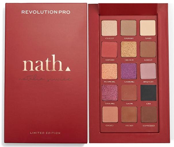 Paleta cieni do powiek - Revolution Pro X Nath Eyeshadow Palette — фото N1
