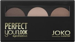 Kup Cienie do powiek (3 kolory) - Joko Perfect Your Look Trio Eye Shadows