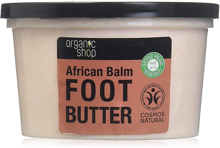 Masło do stóp Afrykański balsam - Organic Shop Organic Hibiscus & 7 Oils Foot Butter — фото N2