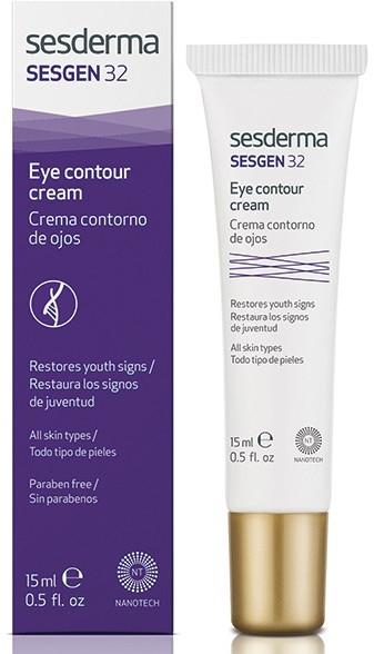 Krem poprawiający kontur oczu - SesDerma Laboratories Sesgen 32 Eye Contour Cream — фото N1