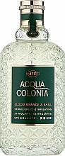 Kup Maurer & Wirtz 4711 Acqua Colonia Blood Orange & Basil - Woda kolońska