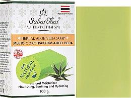 Kup Mydło w kostce z ekstraktem z aloesu - Sabai Thai Herbal Aloe Vera Soap
