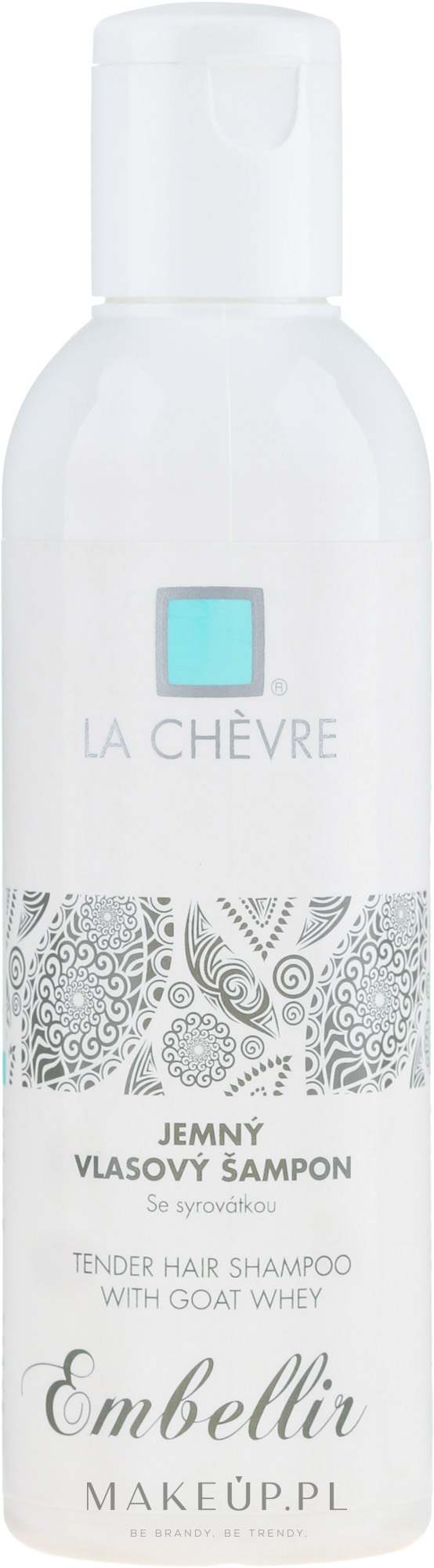 Naturalny szampon do włosów i wrażliwej skóry głowy z kozim mlekiem - La Chevre Embellir Soft Hair Shampoo With Goat Milk Whey — фото 200 g