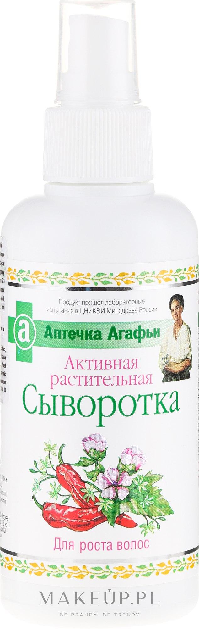 Aktywne serum ziołowe na porost włosów - Receptury Babci Agafii Apteczka Agafii — фото 150 ml