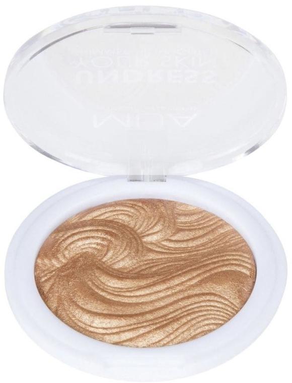 Rozświetlacz do twarzy - MUA Makeup Academy Shimmer Highlighter Powder — фото N2