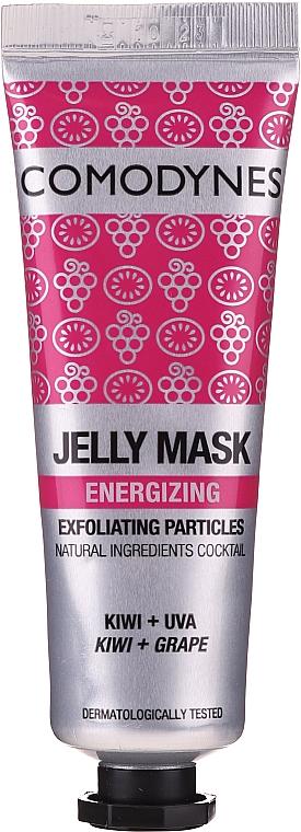 Żelowa maska energetyzująca do twarzy - Comodynes Jelly Mask Energizing Exfoliating Action — фото N1
