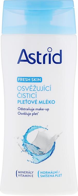 Odświeżające mleczko oczyszczające do cery normalnej i mieszanej - Astrid Fresh Skin Cleansing Milk — фото N1