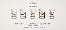 Kup Zestaw aktywnych koncentratów do pielęgnacji skóry - Farmona Professional (10 x concentrate 5 ml)