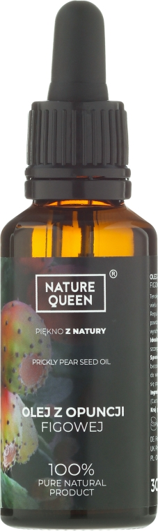 Olej z opuncji figowej - Nature Queen — фото N3