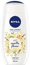 Kup Kremowy żel pod prysznic - Nivea Soft Vanilla Flower Care Shower