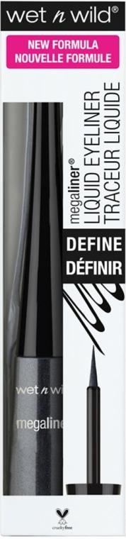 Eyeliner - Wet N Wild MegaLiner Liquid Eyeliner — фото N3