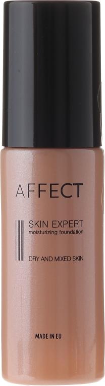 Nawilżający podkład do twarzy do cery suchej i mieszanej - Affect Cosmetics Skin Expert Moisturizing Foundation — фото N1
