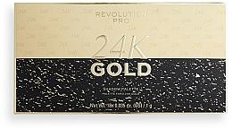 Kup Paleta cieni do powiek - Revolution PRO 24K Gold Eye Shadow Palette