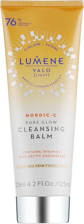 Oczyszczająco-rozświetlający balsam do twarzy - Lumene Valo Cleansing Balm  — фото N1