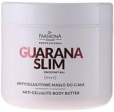 Kup Antycellulitowe masło do ciała - Farmona Professional Guarana Slim Owocowy raj