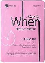 Kup Ujędrniająca maska do twarzy w płachcie do skóry dojrzałej - When Simply Present Perfect