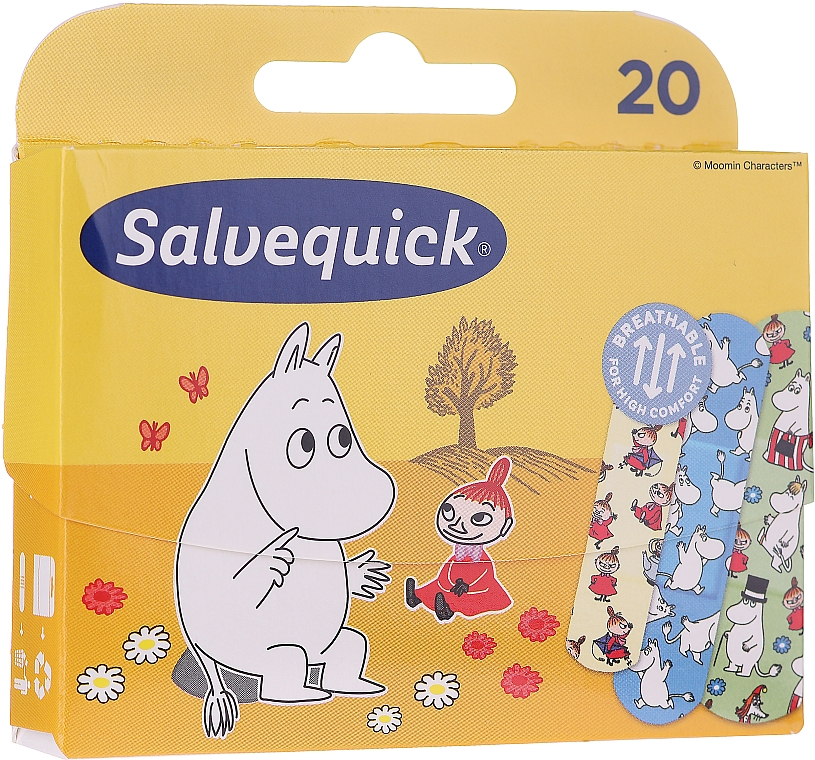 Plastry dla dzieci - Salvequick Moominki — фото N1