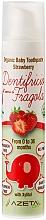 Kup Pasta do zębów dla dzieci Truskawka - Azeta Bio Organic Baby Toothpaste Strawberry