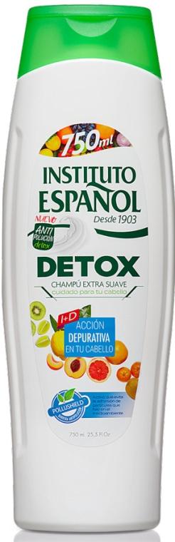 Oczyszczający szampon do włosów - Instituto Espanol Detox Shampoo — фото N1