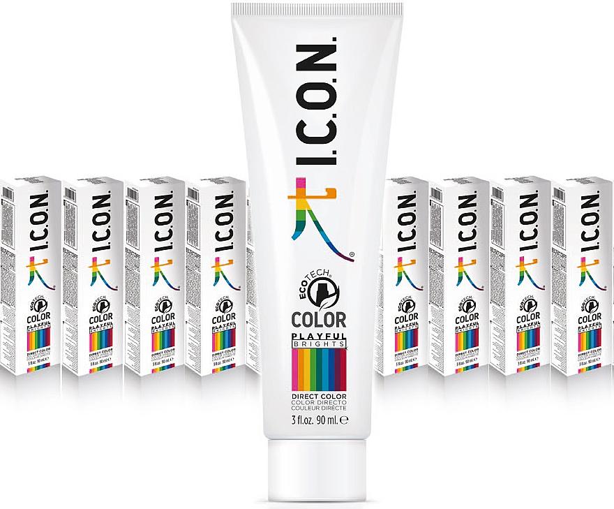 PRZECENA! Farba do włosów - I.C.O.N. Playful Brights Direct Color * — фото N2