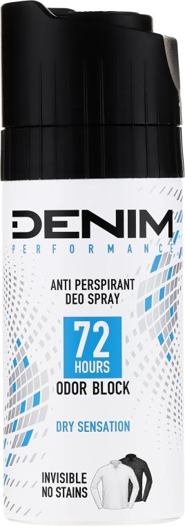 Dezodorant w sprayu dla mężczyzn - Denim Deo Dry Sensation — фото N1