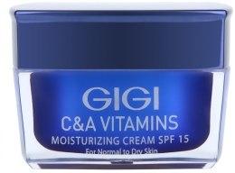 Kup Nawilżający krem do twarzy - Gigi C&A Vitamins Moisturizing Cream SPF 15