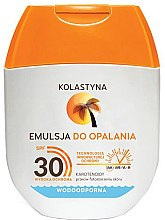 Kup Wodoodporna emulsja do opalania SPF 30 - Kolastyna Emulsion Waterproof SPF 30 (mini)