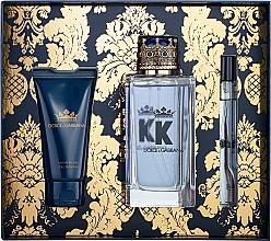 Kup Zestaw dla mężczyzn - Dolce & Gabbana K by Dolce & Gabbana (edt 100 ml + sh/gel 50 ml + edt/mini 10 ml)