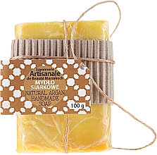 Kup Ręcznie robione mydło siarkowe w kostce - Beauté Marrakech Sayonnerie Artisanale Natural Argan Handmade Soap