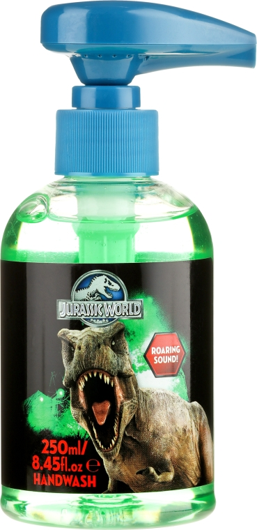 Mydło w płynie do rąk Park Jurajski - Corsair Jurassic World Hand Wash — фото N1