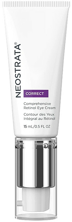 Intensywny krem pod oczy z retinolem - Neostrata Correct Intensive Renewal Comprehensive Retinol Eye Cream — фото N1