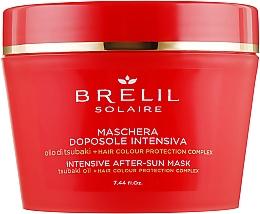 Kup Nawilżająca maska do włosów - Brelil Solaire Intensive After-Sun Musk