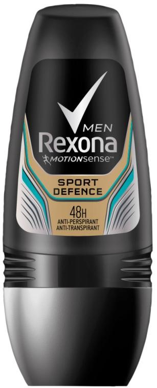 Antyperspirant w kulce dla mężczyzn - Rexona Men Deodorant Sport Defence Roll-On — фото N1