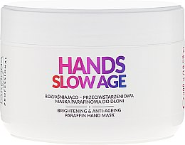 Kup Rozjaśniająco-przeciwstarzeniowa maska parafinowa do dłoni - Farmona Professional Hands Slow Age