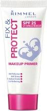 Kup Baza pod makijaż - Rimmel Fix & Protect Makeup Primer SPF 25