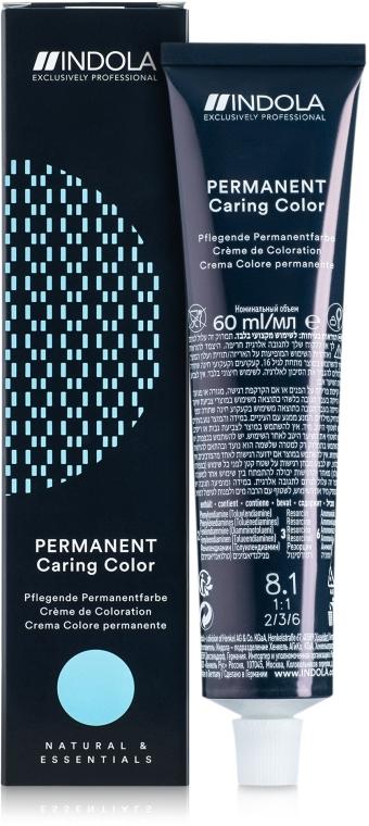 Krem koloryzujący do włosów z amoniakiem - Indola Permanent Caring Color — фото N1