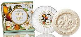 Kup Naturalne mydło w kostce Owoce i lilia - Saponificio Artigianale Fiorentino Fruits & Lily Soap