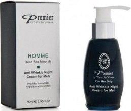 Kup Krem do twarzy, szyi i na powieki przeciw zmarszczkom - Premier Anti Wrinkle Night Cream For Men