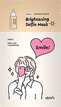 Kup Dwufazowa maska rozjaśniająca w płacie do twarzy - Skin79 Brightening Selfie Mask