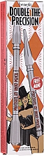 Kup Zestaw - Benefit Double Precisely My Brow Pencil (pencil/0.08g + pencil/0.04g)